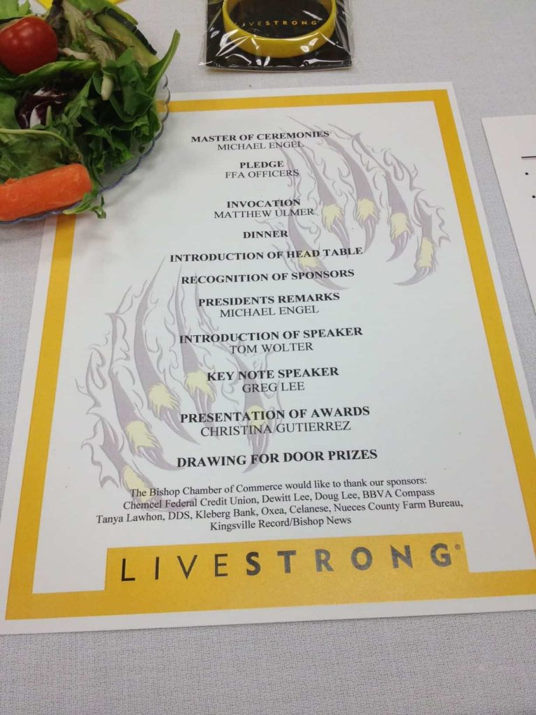LiveStrong Stationery