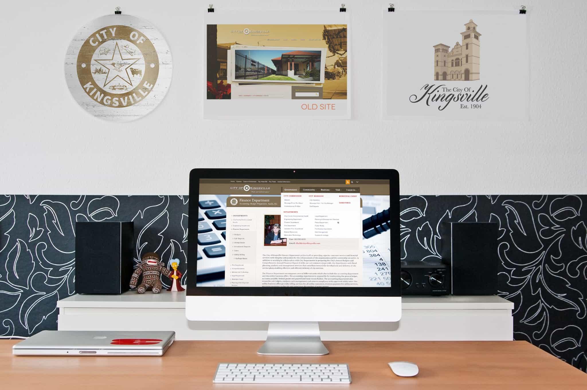 City Of Kingsville Website Design