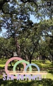 San Antonio Snapchat Geofilter